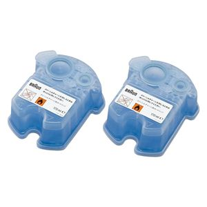 BRAUN(ブラウン)クリーン&リニュー専用洗浄液カートリッジCCR2CR2個入