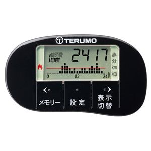 TERUMO(テルモ) 活動量計 MT-KT01ZZXBK ブラック - 拡大画像