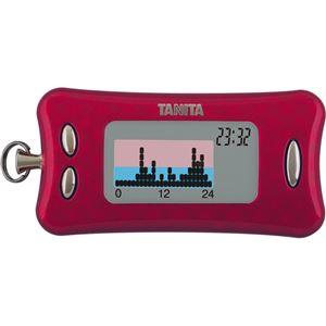 TANITA(タニタ) 活動量計 カロリズム ダイエット AM-130 マゼンタ - 拡大画像