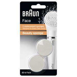 Braun(ブラウン) フェイス専用脱毛器 SE810用 メイクアップブラシ 80-B-FACE