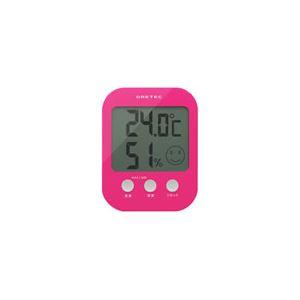 dretec(ドリテック)デジタル温湿度計「オプシス」O-230PKピンク