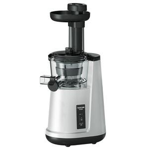 スロージューサー(低速プレス)【TESCOM(テスコム)】食洗機対応/軽量スリムボディ シルバー(銀) TSJ500-S