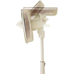 アピックス DCリビング扇風機 40cm AFL-330R-CG