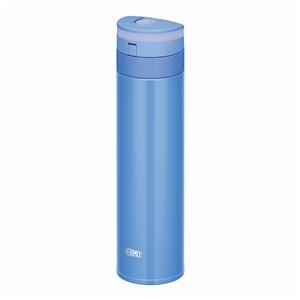 真空断熱ケータイマグ/水筒 【450ml】 パールブルー 超軽量 スリム 直飲み 保温・保冷両対応 『THERMOS サーモス』