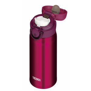 真空断熱ケータイマグ/水筒 【350ml】 ワインレッド 超軽量 直飲み 保温・保冷両対応 『THERMOS サーモス』