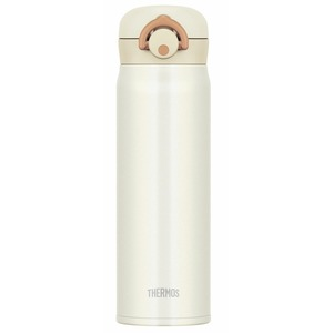真空断熱ケータイマグ/水筒 【500ml】 クリームホワイト 超軽量 直飲み 保温・保冷両対応 『THERMOS サーモス』