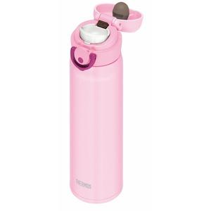 真空断熱ケータイマグ/水筒 【500ml】 ライトピンク 超軽量 直飲み 保温・保冷両対応 『THERMOS サーモス』