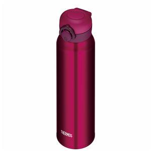 真空断熱ケータイマグ/水筒 【750ml】 ワインレッド 大容量 超軽量 直飲み 保温・保冷両対応 『THERMOS サーモス』