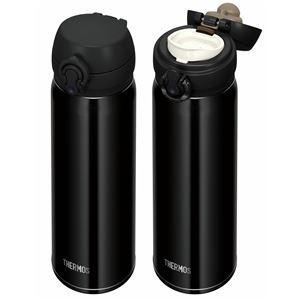 真空断熱ケータイマグ/水筒 【500ml】 ジェットブラック 超軽量 重さ約210g 直飲み 保温保冷 『THERMOS サーモス』