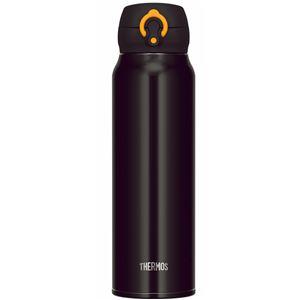 真空断熱ケータイマグ/水筒 【750ml】 ブラックイエロー 大容量 超軽量 直飲み 保温保冷対応 『THERMOS サーモス』