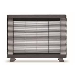 インターセントラル 遠赤外線ヒーター/電気暖房機 【4〜8畳 チャコールグレー】 温度過昇防止装置