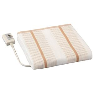 広電 省エネタイプ電気毛布/防寒具 【掛け敷き毛布】 188cm×130cm 化繊