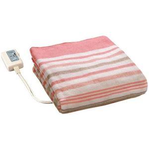 広電 電気毛布/防寒具 【敷き毛布】 140cm×80cm 化繊 スタンダードタイプ