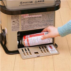 イワタニ カセットガスストーブ/暖房器具 【ハイパワータイプ】 軽量 コードレス 安全装置搭載 デカ暖