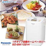 Panasonic 1斤タイプ自動ホームベーカリー SD-BM102-H