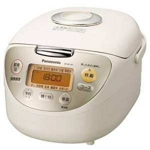 Panasonic (パナソニック) 1.0L 0.5〜5.5合電子ジャー炊飯器 SR-NF101-C ベージュ - 拡大画像