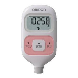 OMRON(オムロン) 歩数計 ウォーキングスタイル HJ-203-P - 拡大画像