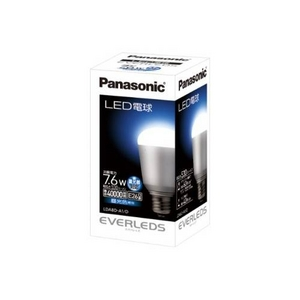 Panasonic(パナソニック) LED電球 EVERLEDS(エバーレッズ) 7.6W 調光器対応 LDA8D-A1/D (昼光色相当) - 拡大画像