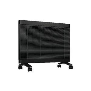 インターセントラル 遠赤外線ヒーター/電気暖房機 【4〜6畳 ブラック】 チャイルドロック機能付き