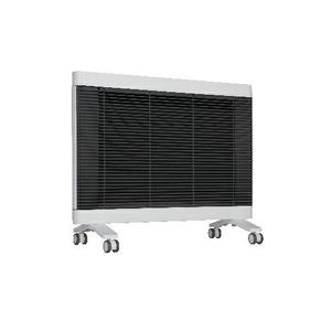 インターセントラル 遠赤外線ヒーター/電気暖房機 【4〜6畳 ホワイト】 チャイルドロック機能付き