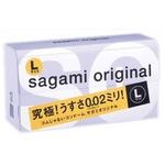 サガミオリジナル 002 Lサイズ コンドーム 12個×3セット