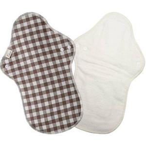 布ナプキン 多い日・夜用 ギンガム2枚セット