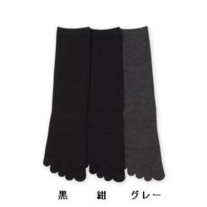 Deol(デオル) 5本指ソックス 女性用 黒
