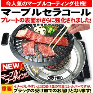高級焼肉店の味を自宅で再現!煙も余分な脂も気にならない!!魔法の焼肉用鍋「マーブルセラコート」