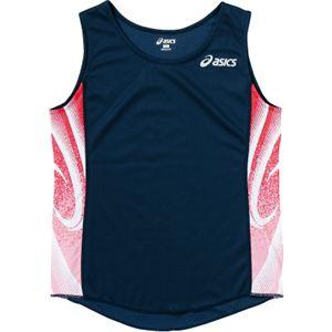 ASICS(アシックス) W'Sランニングシャツ ネイビー XT2027 L