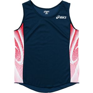 ASICS(アシックス) W'Sランニングシャツ ネイビー XT2027 M