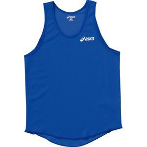 ASICS(アシックス) Jr.メンズランニングトップ ブルー XT3005 140