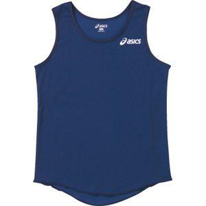 ASICS(アシックス) Jr.レディスランニングトップ ネービー XT4005 140