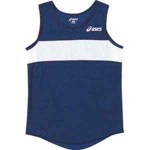 ASICS(アシックス) Jr.レディスランニングトップ ネービー XT4006 140