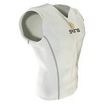 スポーツタイツ・スポーツインナーSKINS(スキンズ) スリーブレストップ ホワイト Sサイズ