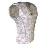 SKINS(スキンズ) SPORT スリーブレストップ ホワイト カモ b10004003 Lサイズ