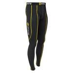 SPORT スポーツロングタイツ ブラック ブラック/イエロー b10001001 Lサイズ
