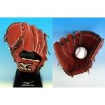ミズノ グローバルエリート 硬式グローブ 投手用 左投げ 11サイズ ローズブラウン − 36,000円