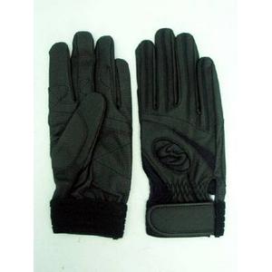 高校野球対応 バッティング手袋 両手用 ウォッシャブル ブラック Lサイズ(25cm)Zeems(ジームス)