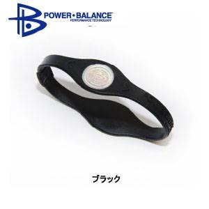 POWER BLANCE(パワーバランス) シリコンブレスレット ブラック [国内正規品] Sサイズ