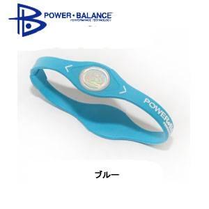 POWER BLANCE(パワーバランス) シリコンブレスレット ブルー [国内正規品] Sサイズ