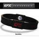 EFX(イーエフエックス) パフォーマンス リストバンド スポーツブレスレット ブラック×レッド[正規品]4001567b-232 Mサイズ 写真1