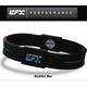 EFX(イーエフエックス) パフォーマンス リストバンド スポーツブレスレット ブラック×ライトブルー[正規品]4001567b-205 Lサイズ 写真1