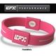 EFX(イーエフエックス)パフォーマンス リストバンド スポーツブレスレット ピンク×ホワイト[正規品]4001567b-293 Mサイズ