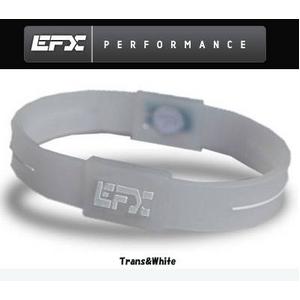 EFX(イーエフエックス) パフォーマンス リストバンド スポーツブレスレット トランス×ホワイト[正規品]4001567b-233 Lサイズ