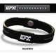 EFX(イーエフエックス) パフォーマンス リストバンド スポーツブレスレット ブラック×ホワイト[正規品]4001567b-206 Lサイズ 写真1