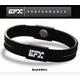 EFX(イーエフエックス) パフォーマンス リストバンド スポーツブレスレット ブラック×ホワイト[正規品]4001567b-206 Mサイズ 写真1