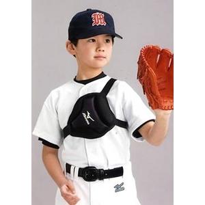 野球・ソフトボール用胸部保護パッド (175cm以上用) 右投げ・左投げ兼用!! 175cm以上 MIZUNO(ミズノ)