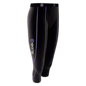 女性専用に開発されたサポートウェアシリーズ!! 【SKINS(スキンズ)】 『シーカプリタイツ black/purple』 S