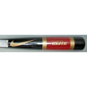 ナイキ 木製トレーニングバット 『DIAMOND ELITE』 ブッラク×レッド×ゴールド 85cm×1000g平均