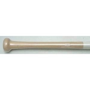一般トレーニング用バット(実打可能) ホワイト×レッド 85cm×1000g平均